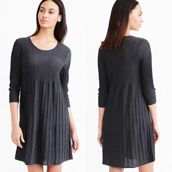 eileen fisher Dresses & Skirts - Eileen Fisher Washable Wool Scoop-Neck Dress sz L